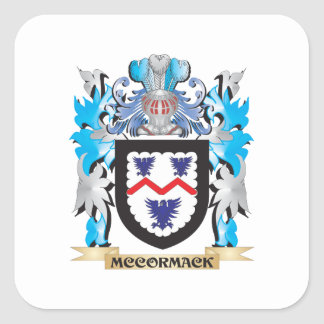 Mccormackの紋章付き外衣-家紋 スクエアシール