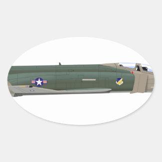 McDonnell Douglas F-4Eの幻影II 68531 楕円形シール