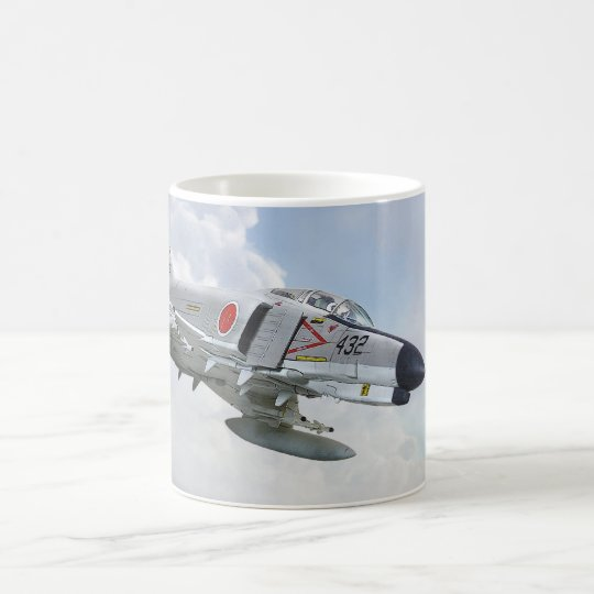 McDonnell-Douglas F- 4EJ Phantom II JASDF コーヒーマグカップ