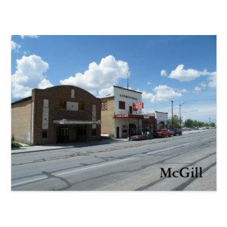 McGill ポストカード