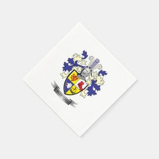 McIntoshの家紋の紋章付き外衣 スタンダードカクテルナプキン