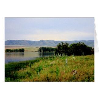 McKayの入り江の野性生物の予約カード カード