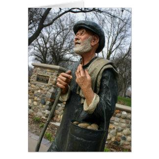 McKennan公園カードのポテトの人の彫像 カード