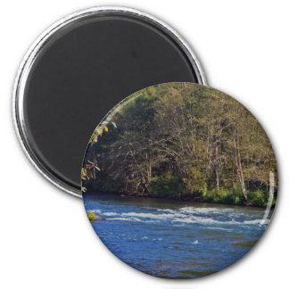 McKenzieの川、オレゴン マグネット