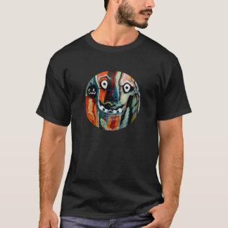 MClairArtのFunnySunFacesハロウィンのギフト Tシャツ