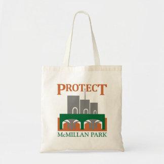 McMillan公園のトートを保護して下さい トートバッグ