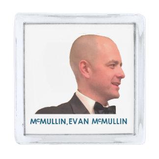 McMullin、エバンMcMullin 0045 シルバー ラペルピン