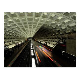 McPhersonの正方形の場所、地下鉄、ワシントンD.C.、 ポストカード