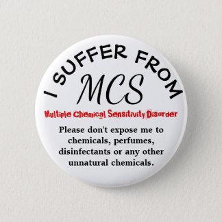 MCSの認識度および警告ボタン 缶バッジ