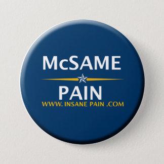 McSame -苦痛 7.6cm 丸型バッジ