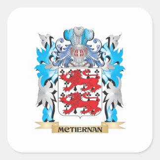 Mctiernanの紋章付き外衣-家紋 スクエアシール