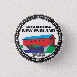 MDニューイングランドボタン 3.2CM 丸型バッジ