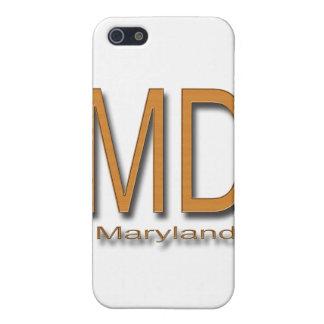 MDメリーランド木 iPhone 5 カバー