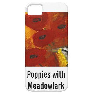 MeadowlarkのiPhoneの場合を持つケシ iPhone SE/5/5s ケース