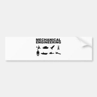 Mechaicalのエンジニアリング バンパーステッカー