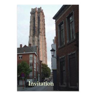 Mechelen - Romboutタワーの眺め カード
