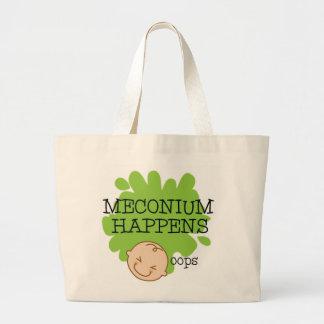 Meconiumはトートバック助産婦の起こります ラージトートバッグ