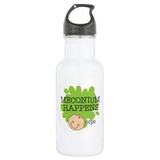 Meconiumは水差し起こります ウォーターボトル