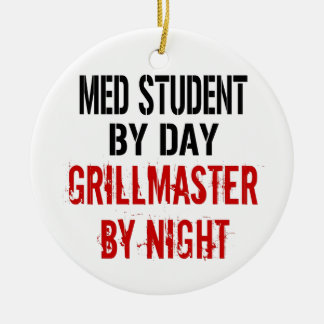 Med学生Grillmaster セラミックオーナメント