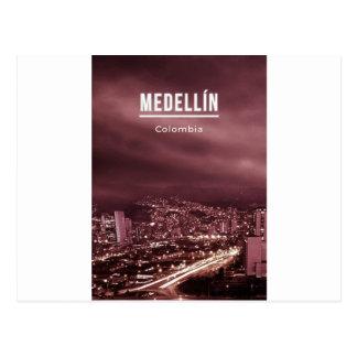 Medellinコロンビア ポストカード