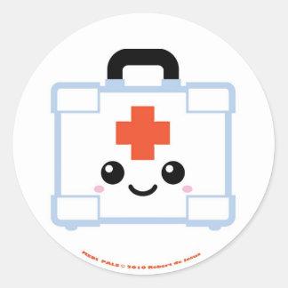 Mediの友達の救急箱 ラウンドシール
