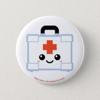 Mediの友達の救急箱 5.7cm 丸型バッジ