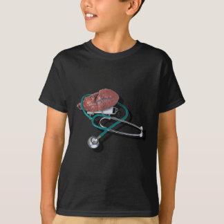 MedicalHeartGurneyStethoscope092715.png Tシャツ