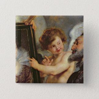 Medici周期: アンリーIVの受け入れ 5.1cm 正方形バッジ