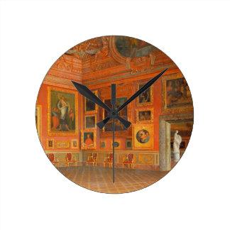 Medici宮殿のインテリア ラウンド壁時計