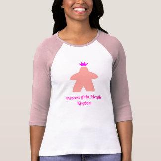 Meepleの王国のプリンセス Tシャツ