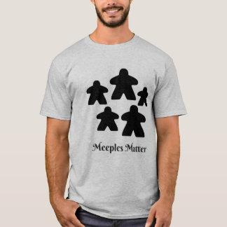 Meeplesの問題 Tシャツ