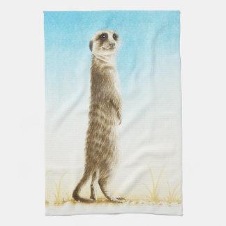 Meerkatのアメリカ人のMoJoの台所タオル キッチンタオル