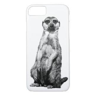 MeerkatのカスタムなiPhone 7の場合 iPhone 8/7ケース