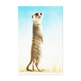 Meerkatのキャンバスプリント キャンバスプリント