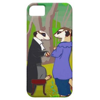 Meerkatの会合 iPhone SE/5/5s ケース