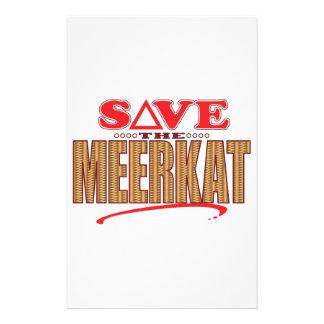 Meerkatの保存 便箋