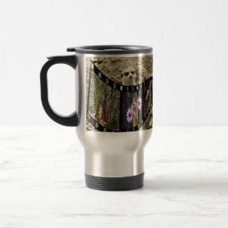Meerkatの写真のストリップの銀の通勤者のコーヒー・マグ トラベルマグ