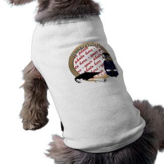 Meerkatの卒業生(青いガウンw/Blackのサッシュと) ペット服