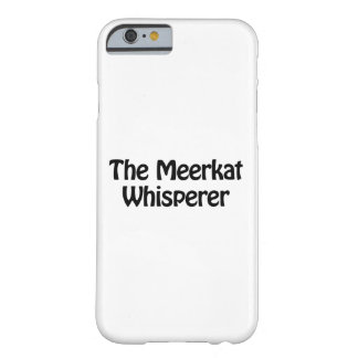 meerkatの囁くもの barely there iPhone 6 ケース