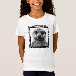 Meerkatの女の子のベビードールのTシャツ Tシャツ