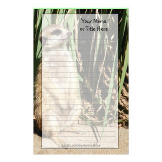 Meerkatの文房具 便箋