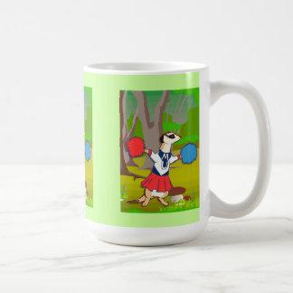 Meerkatの森林チアリーダー コーヒーマグカップ
