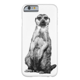 Meerkatの習慣のiPhone6ケース Barely There iPhone 6 ケース
