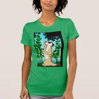 MeerkatのTシャツ、私は考えるです Tシャツ