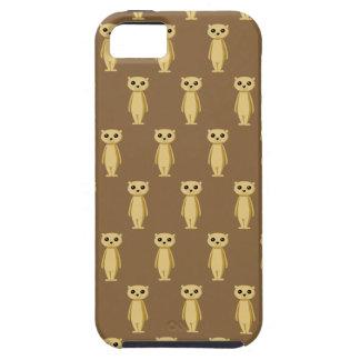 Meerkatパターン iPhone SE/5/5s ケース