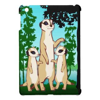 Meerkat家族 iPad Miniケース
