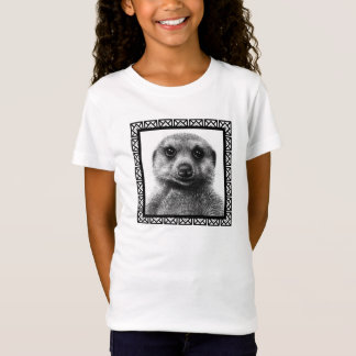 Meerkat Girls Baby Doll T-Shirt Tシャツ