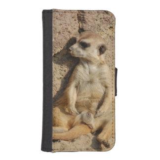 Meerkat iPhoneSE/5/5sウォレットケース