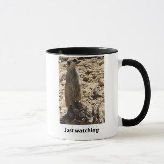 Meerkat_Justの監視 マグカップ