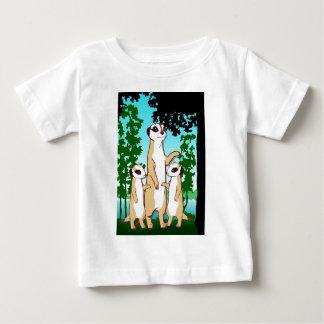 Meerkatsに会って下さい ベビーTシャツ